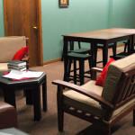 Adult lounge area