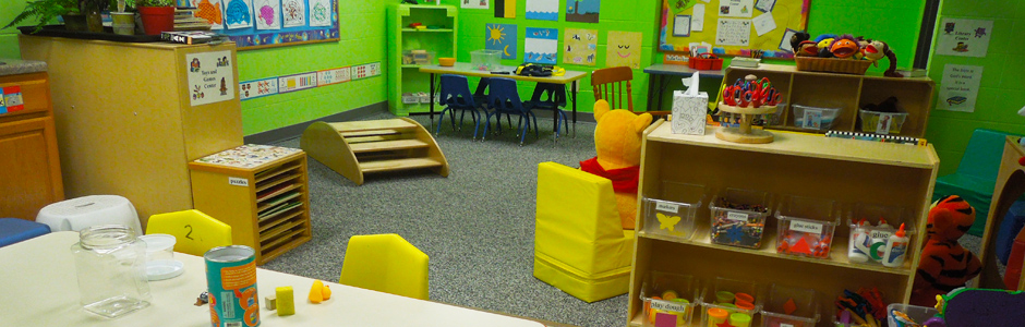 St. Paul, Ames - preschool classroom