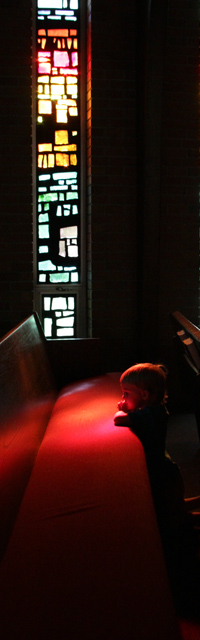 Small Child Praying